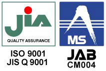 ISO9001:2008適合性マーク